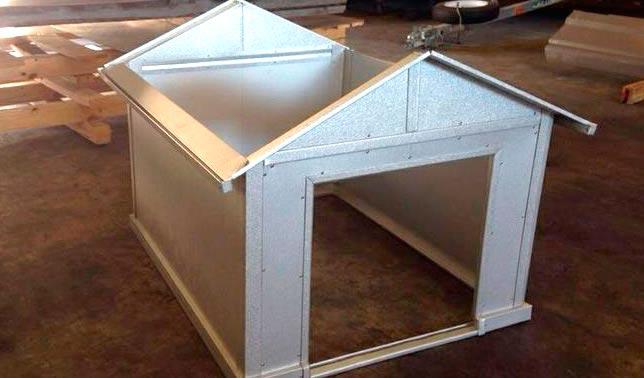 casetas para perro de metal